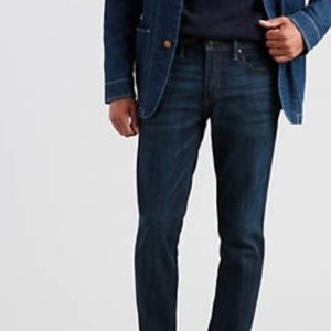 Mens 505 regular fit dark wash Levi's 42x32